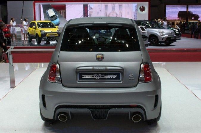 Geneva: Fiat 500 695 Biposto – Fastest Abarth Yet //www ...
