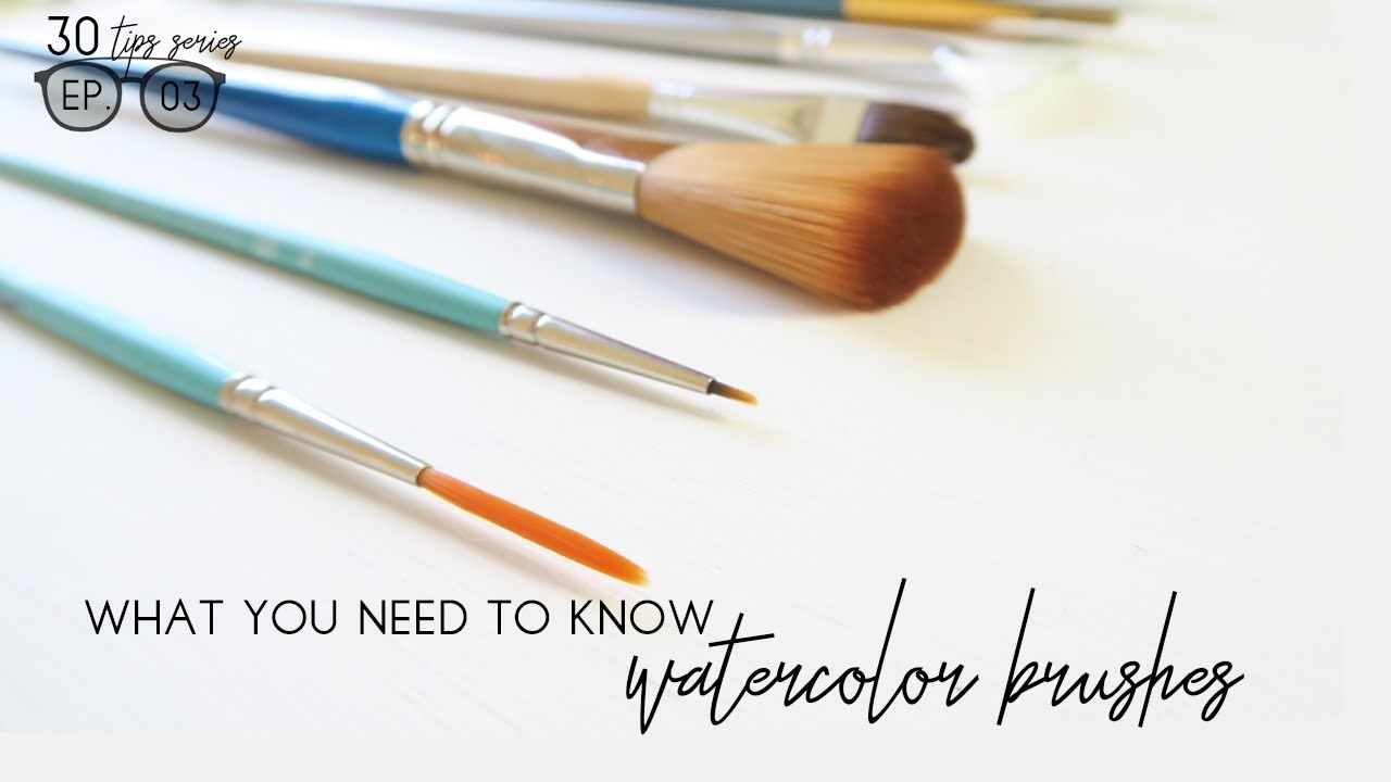Watercolor Brushes Everything You Need To Know Beginner S
