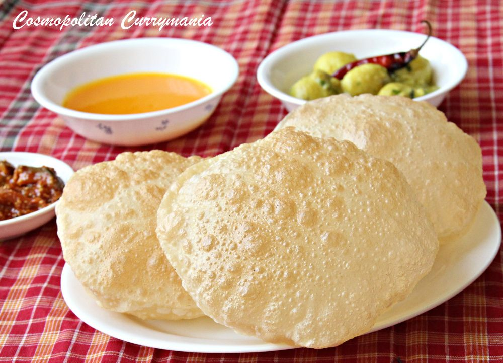 Pooripuriluchi indian puffed bread recipe with tips for making cuisine forumfinder Gallery