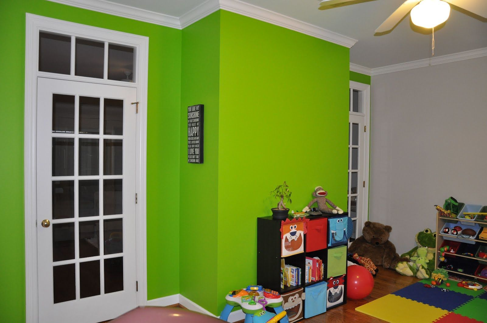 Light Green Paint lime green bedroom ideas trend decoration | isaï's bedroom