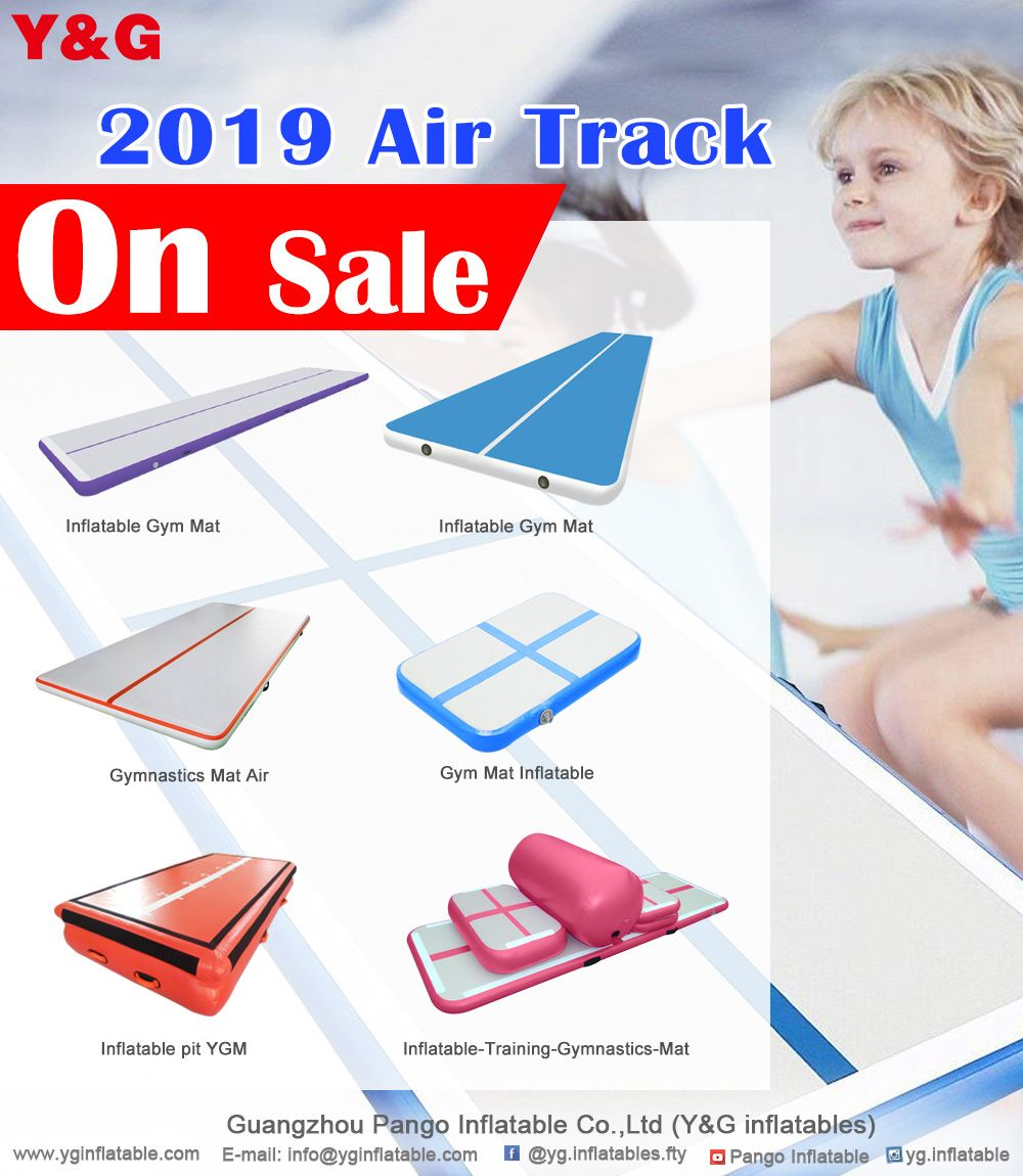 Y&G inflatable gymnastics mat (air track) is on sale today