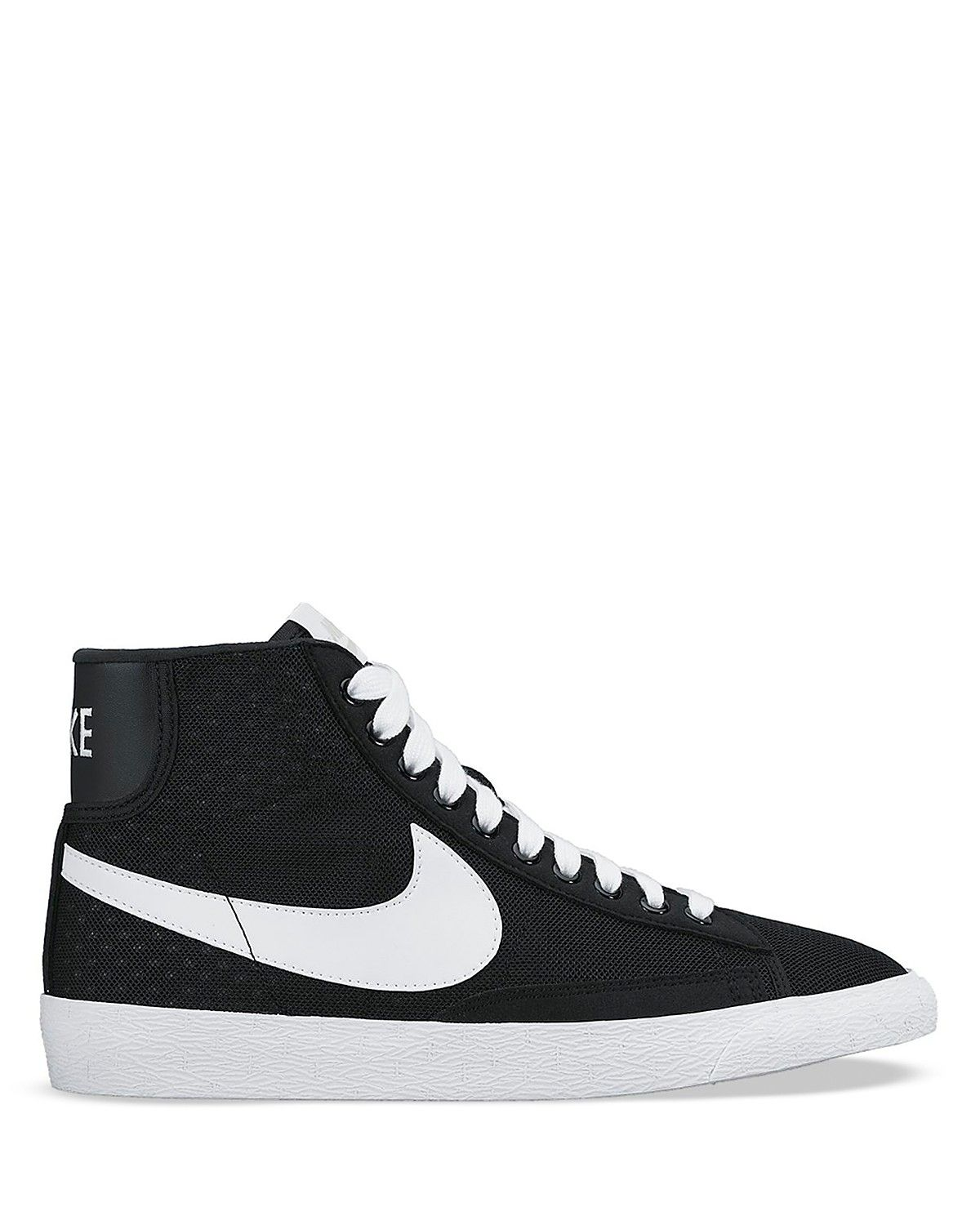 the latest 5ee51 eb75f Nike Lace Up High Top Sneakers - Women s Blazer Mid Mesh   Bloomingdale s