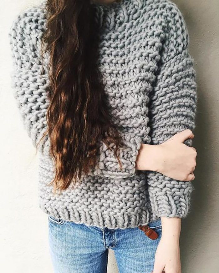 Sweater Weather 12 Best Chunky Knit Sweater Patterns Knit Me