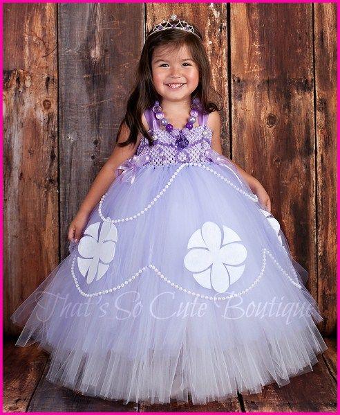 SOFIA THE FIRST DRESS | That's So Cute Boutique Tutu ... - photo #16