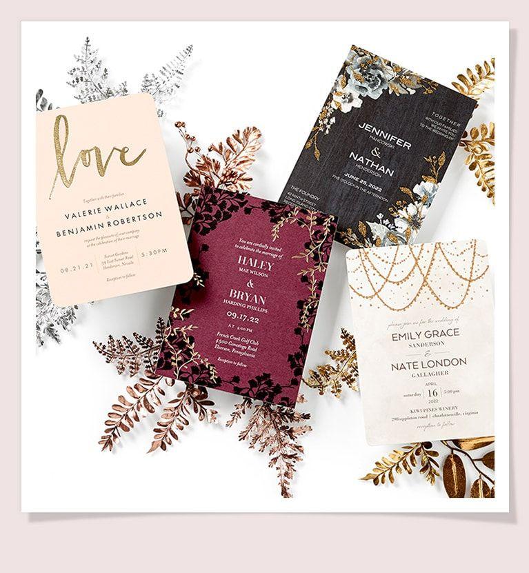 The Wedding Shop Shutterfly Wedding thank you cards