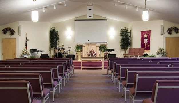 church ideas - Small Church Stage Design Ideas