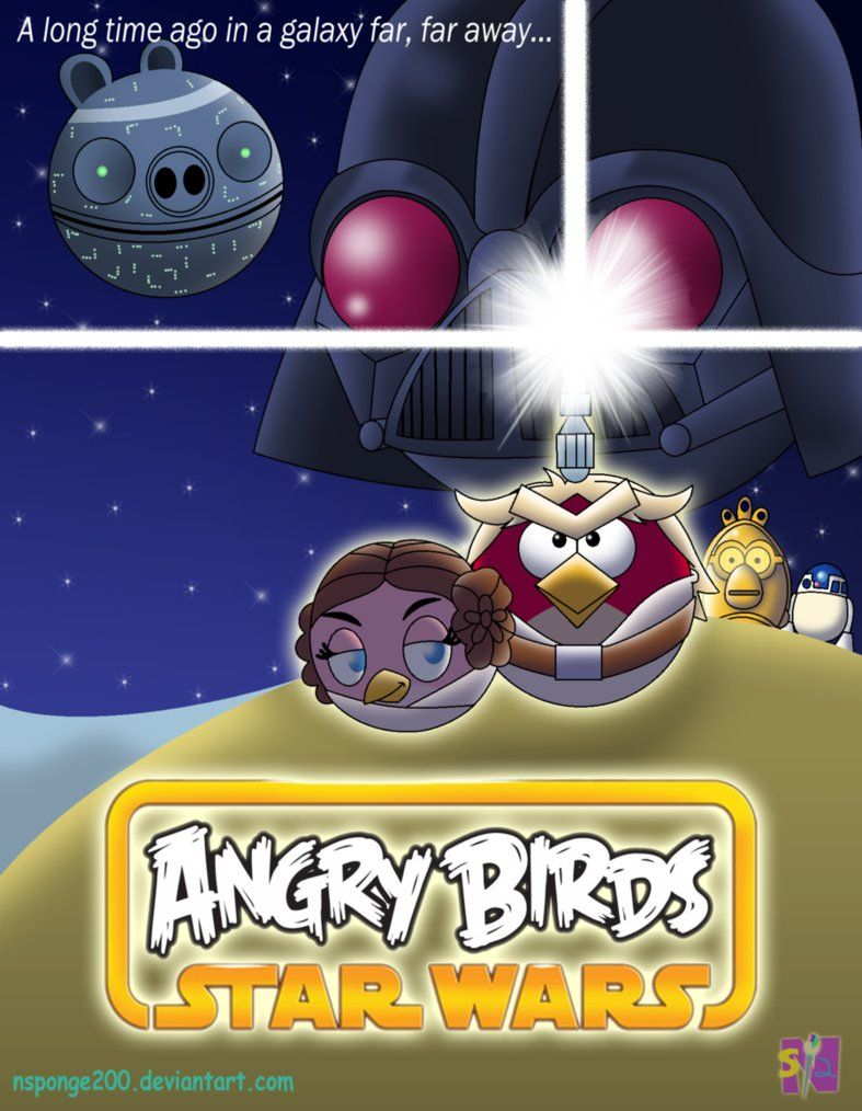 Awesome Angry Birds Star Wars Fan Art Angry Birds Star Wars