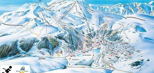 Pisteplan Skiområde Besse Super Besse - Massif du Sancy
