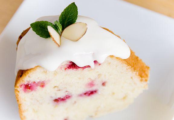 raspberry almond tea cake recipe | use real butter