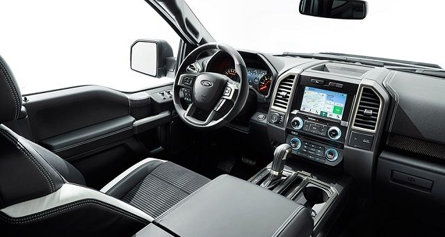 Ford F 150 Raptor Next Generation 2017 Interior View With Images