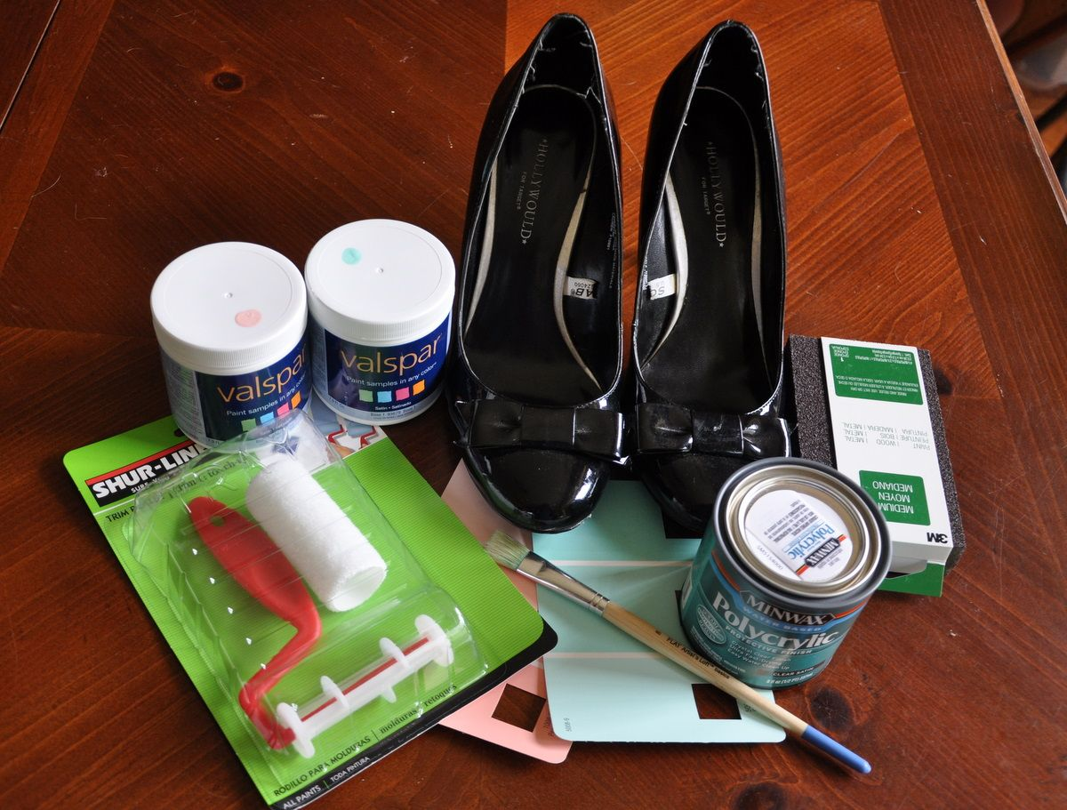 Painted shoes   Painted Shoes - bebehblog