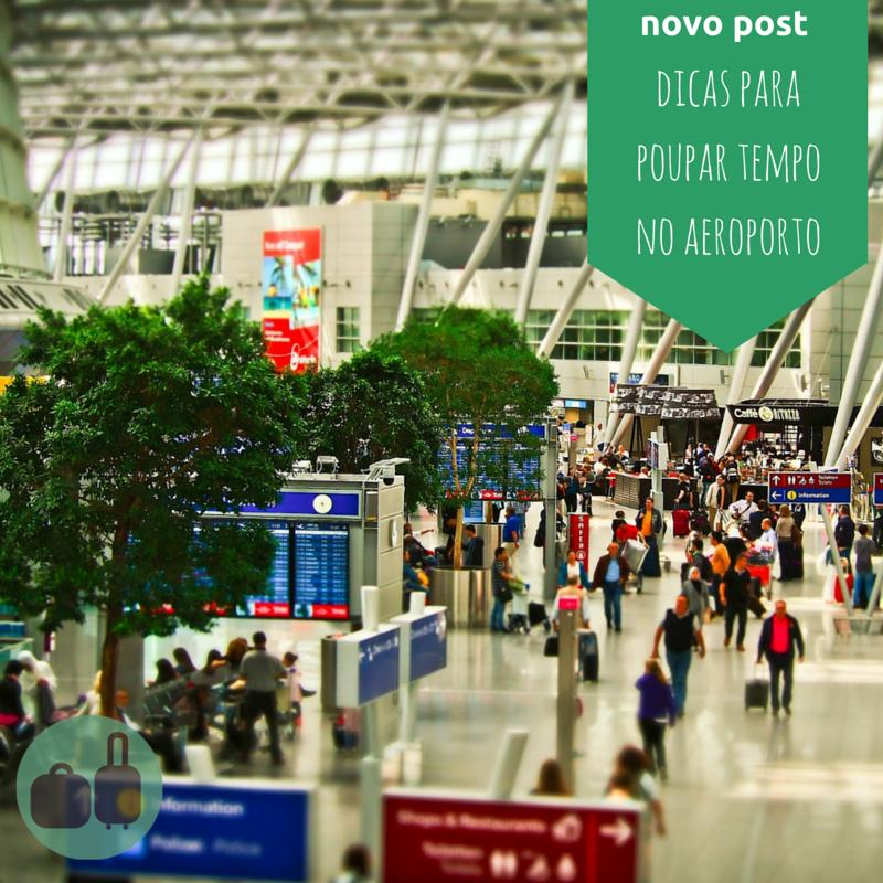 Quais são suas táticas para poupar tempo no aeroporto?  Veja algumas dicas que separamos no blog @passageira.com.br. Em época de Olimpíadas, é sempre útil!  #trip #viagem #passageira #traveller #tripping #road #fly #viajantes #mochilao #mochileiros #turistar #turistando #turistas #rsbloggers #blogdeviagem #travelblog #travelblogger