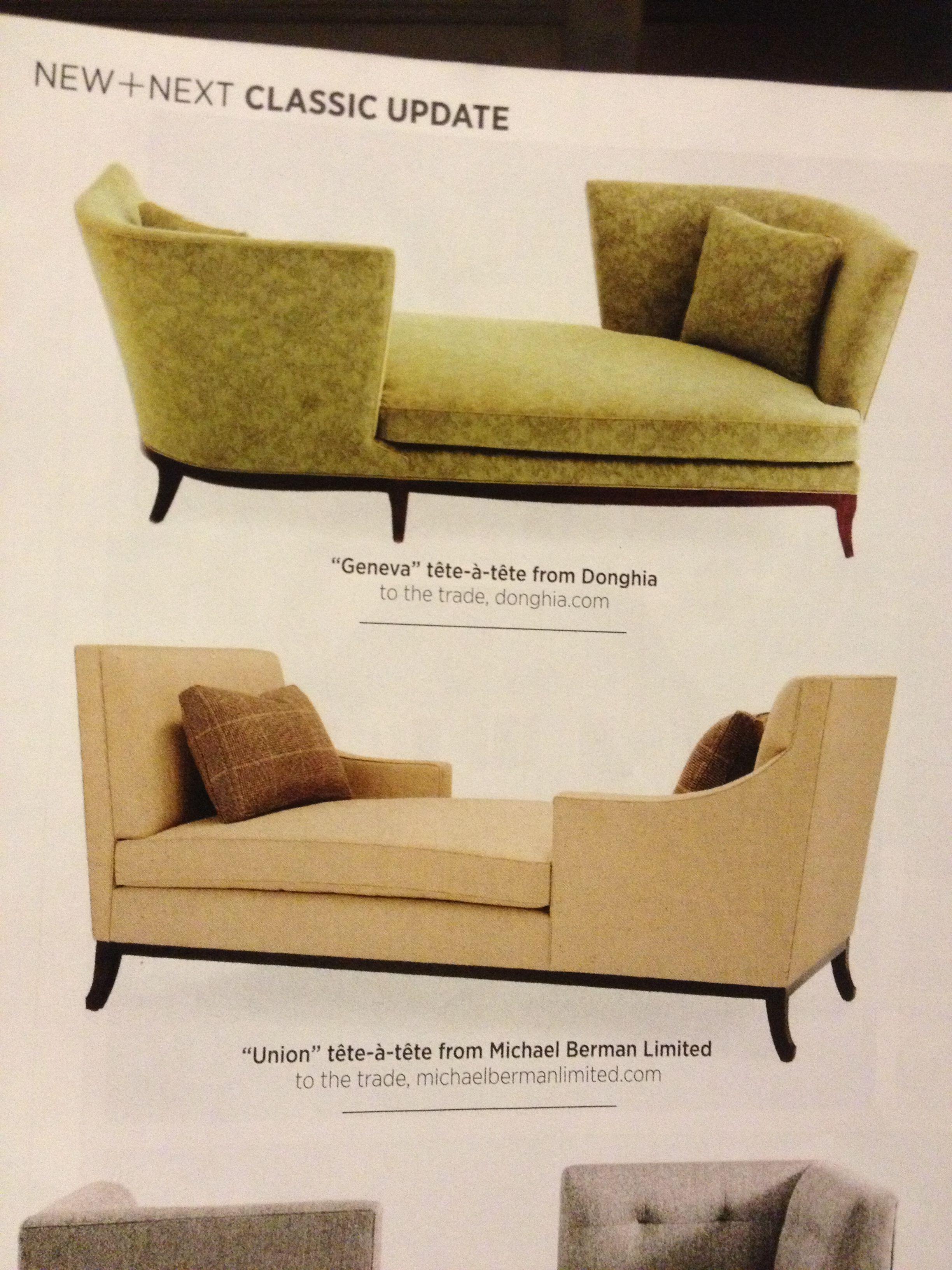 Tete A Tete Furniture Chaise Lounge Chaise