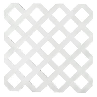 Veranda Veranda 4x8 White Reg Plst Lattice Home Depot Canada Plastic Lattice Lattice White Vinyl