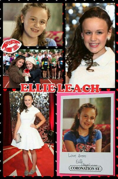 Ellie leach (Faye coronation street) She is amazing!