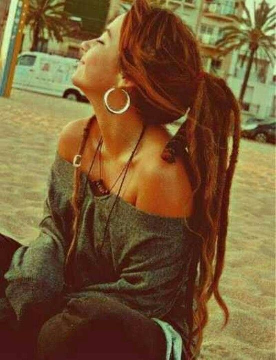 Pretty dreads...maybe one day if I let my hair get long enough!