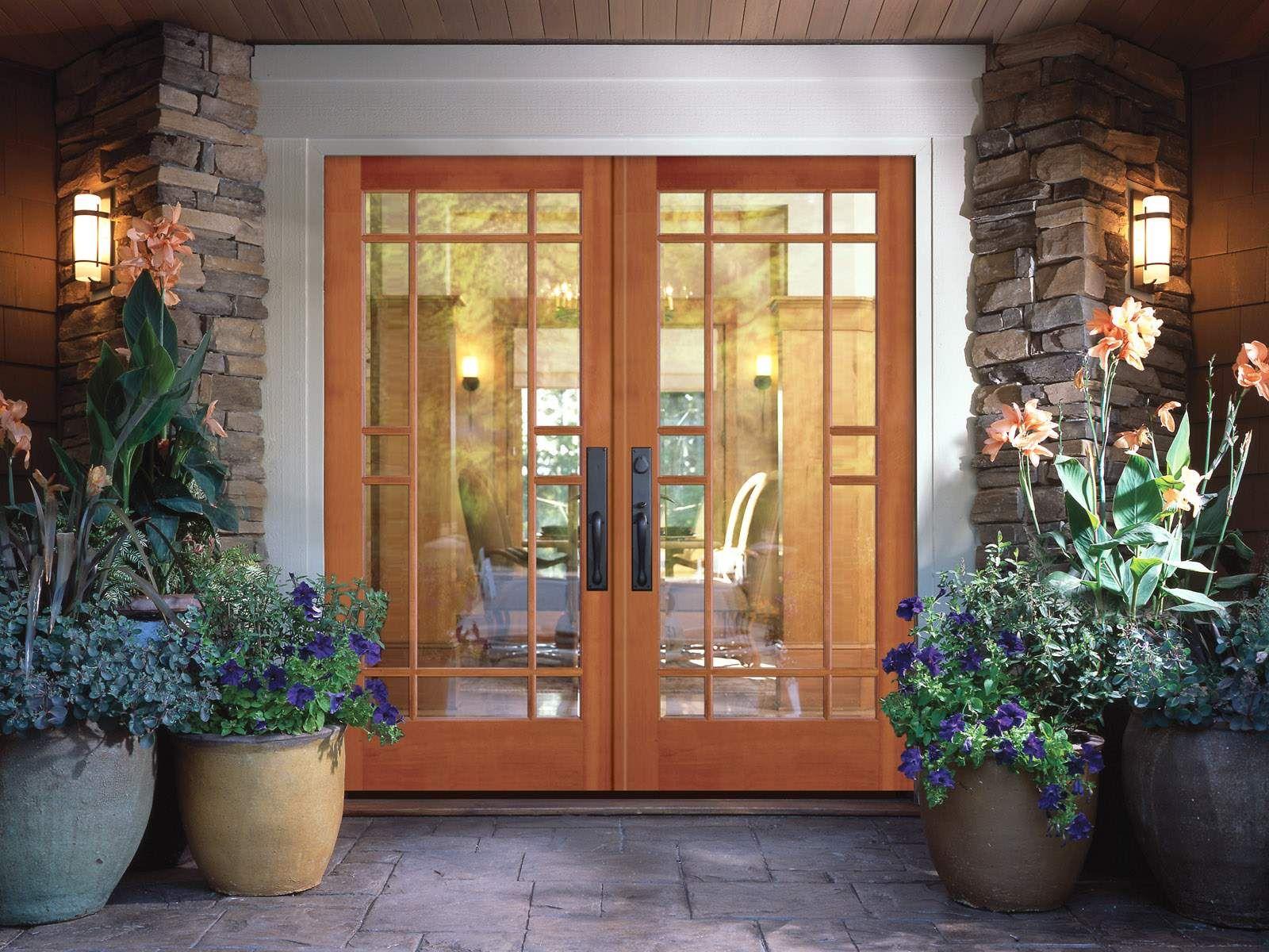 Door Design Ideas furniture luxurious wooden front door with big wall around amazing front doors design ideas for your elegant house Beautiful Door Interior Design Ideas With Pictures71 Beautiful Door