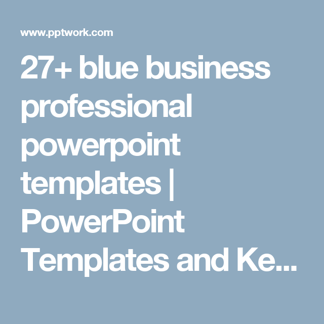 27+ blue business professional powerpoint templates | powerpoint, Modern powerpoint