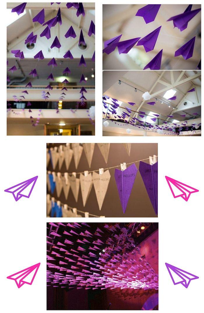 1001 ideen und bilder zum thema papierflieger basteln decor home decor lighting