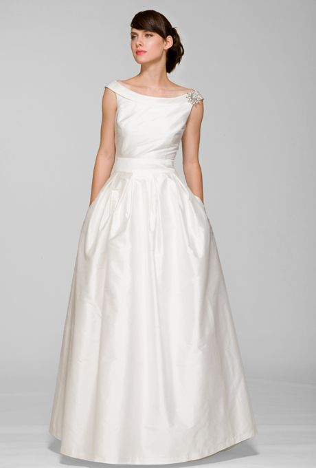 Audrey-Inspired Gown   Wedding - bride   Pinterest   Gowns, Wedding ...