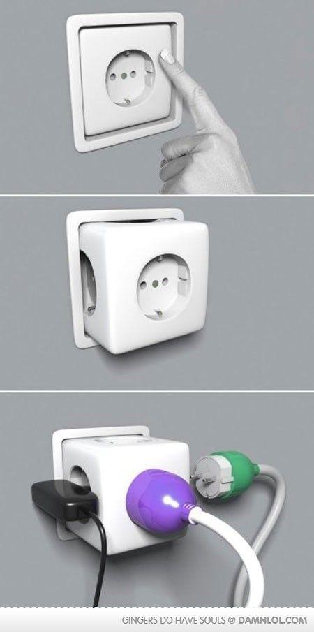 This Is A Must Mit Bildern Steckdosen Intelligent Design Idee