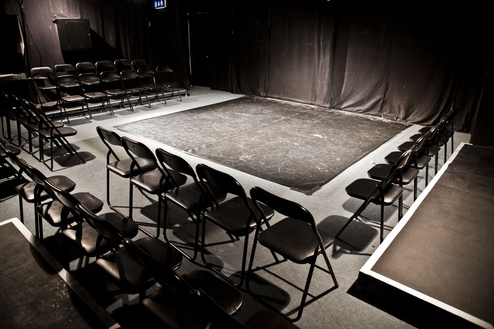 Black Box Theatre Floor Plan Chart Also Proscenium Stage Dimensions Likewise Criterion Theatre Home Home Theater Design Design