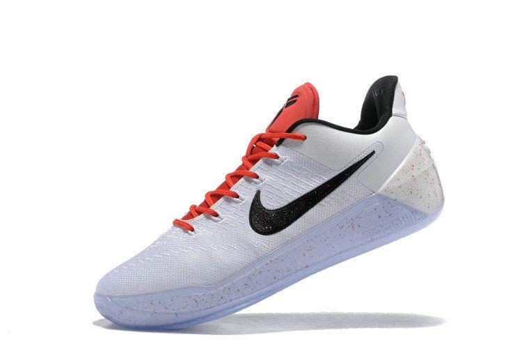 How To Buy 2018 2018 Newest Nike Kobe AD White University Red Black