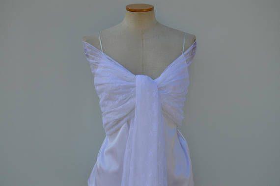 Stole bridal lace shawl in white lace burp burp lace white wedding ... 40e4375d667