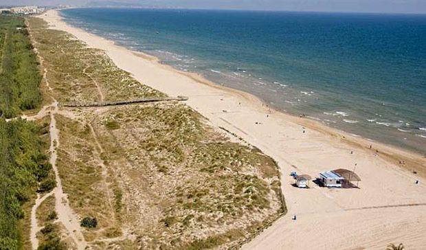 Playa L Ahuir Gandía Valencia España En 15 Playas Nudistas A Fondo Guía Del Ocio Playas Nudistas Playa Valencia España