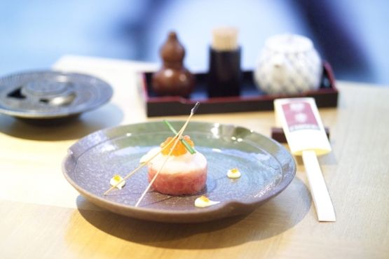 Time Out London's review of Chisou Japanese restaurant (green tea mascarpone-filled dorayaki!)