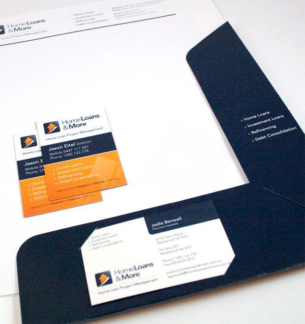 Client Home Loans \ More Project Presentation Folder Design - project presentation