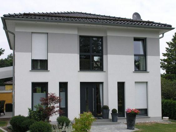 Stadtvilla modern  Stadtvilla Typ E - #Einfamilienhaus von HOGAF Hausbau GmbH ...