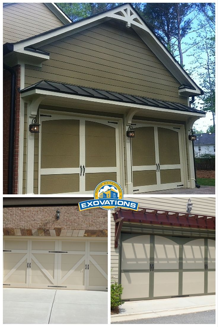 Give your garage a makeover with custom details like a stone or find this pin and more on garage doors rubansaba