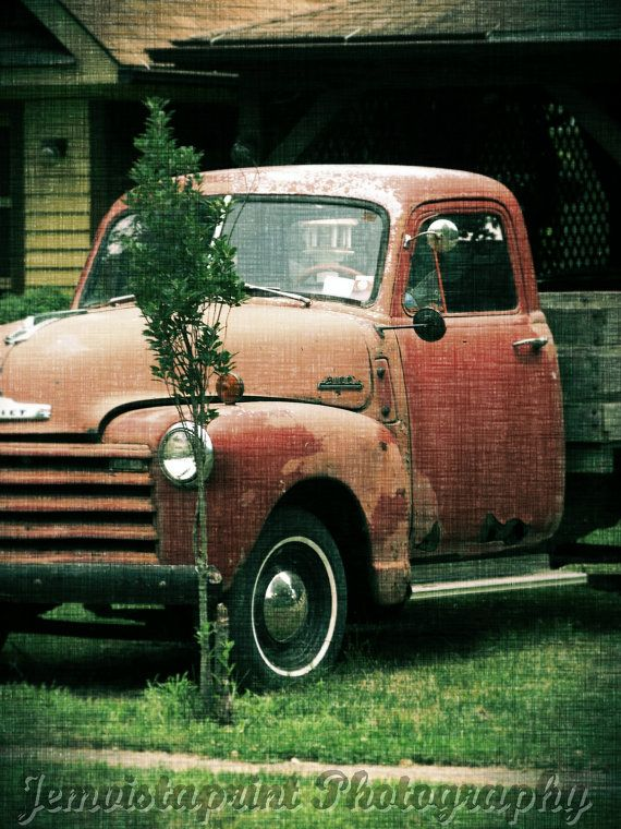 Attrayant Old Chevy Truck No.1 Photo Art Print Home Decor By Jemvistaprint, $25.00