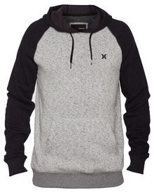 472252ea9 XL- A traditional pullover hoodie gets an update with raglan styling ...