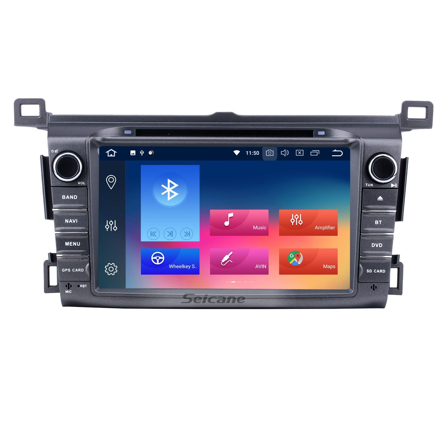 Seicane Android 8 0 2 Din Radio Dvd Player Car Stereo For 2013