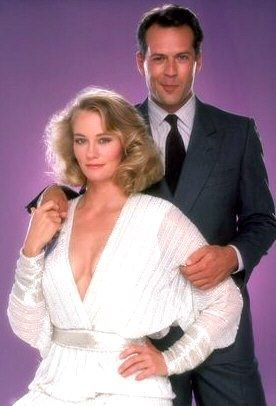 Bruce Willis and Cybill Shepherd