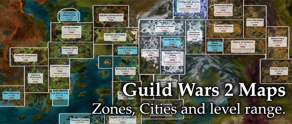 Guild wars 2 maps world map pinterest guild wars 2 maps malvernweather Choice Image