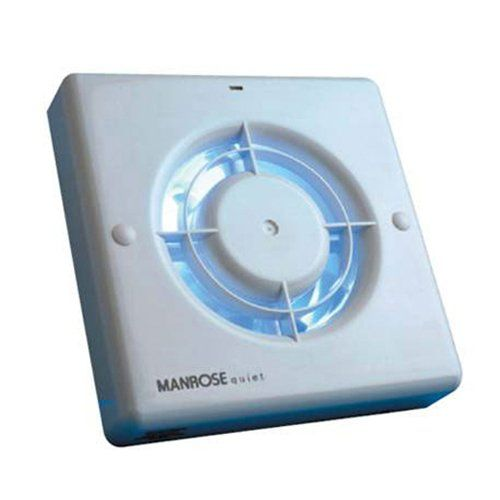 Manrose Qf100t Quiet Extractor Fan With Timer For 4 100mm Duct Click Image To Review More Extractor Fans Bathroom Extractor