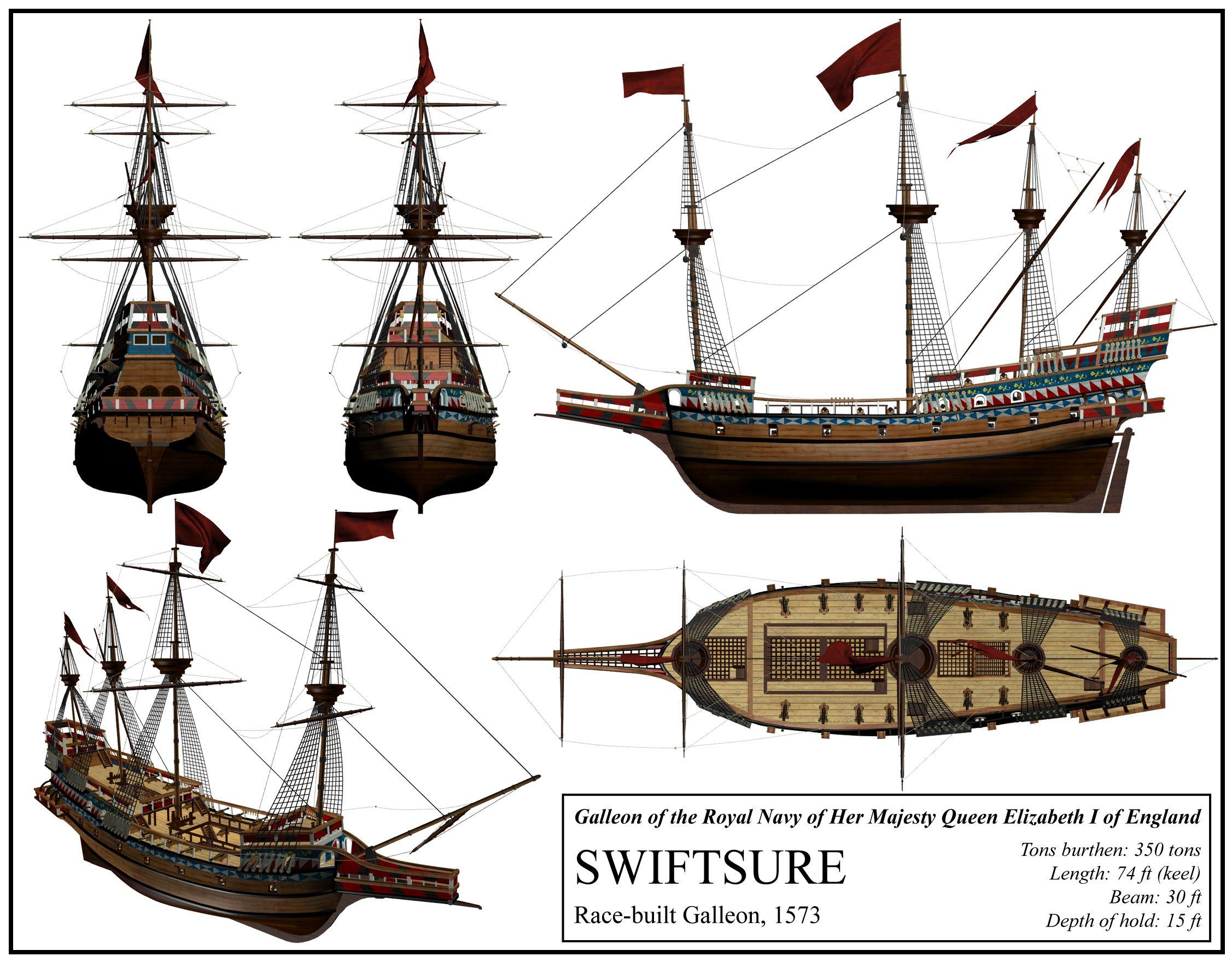 English Ship Swiftsure By DeviantKaleddeviantartcom On