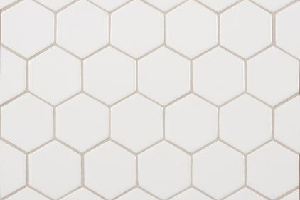 Hex Tile Is Neutral And Will Never Go Out Of Style A Blue Mixer Would