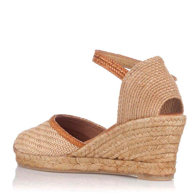 c61d2a52aa6 PASEART Beige Raffia Wedge Espadrille | espadril shoes | Espadrilles ...
