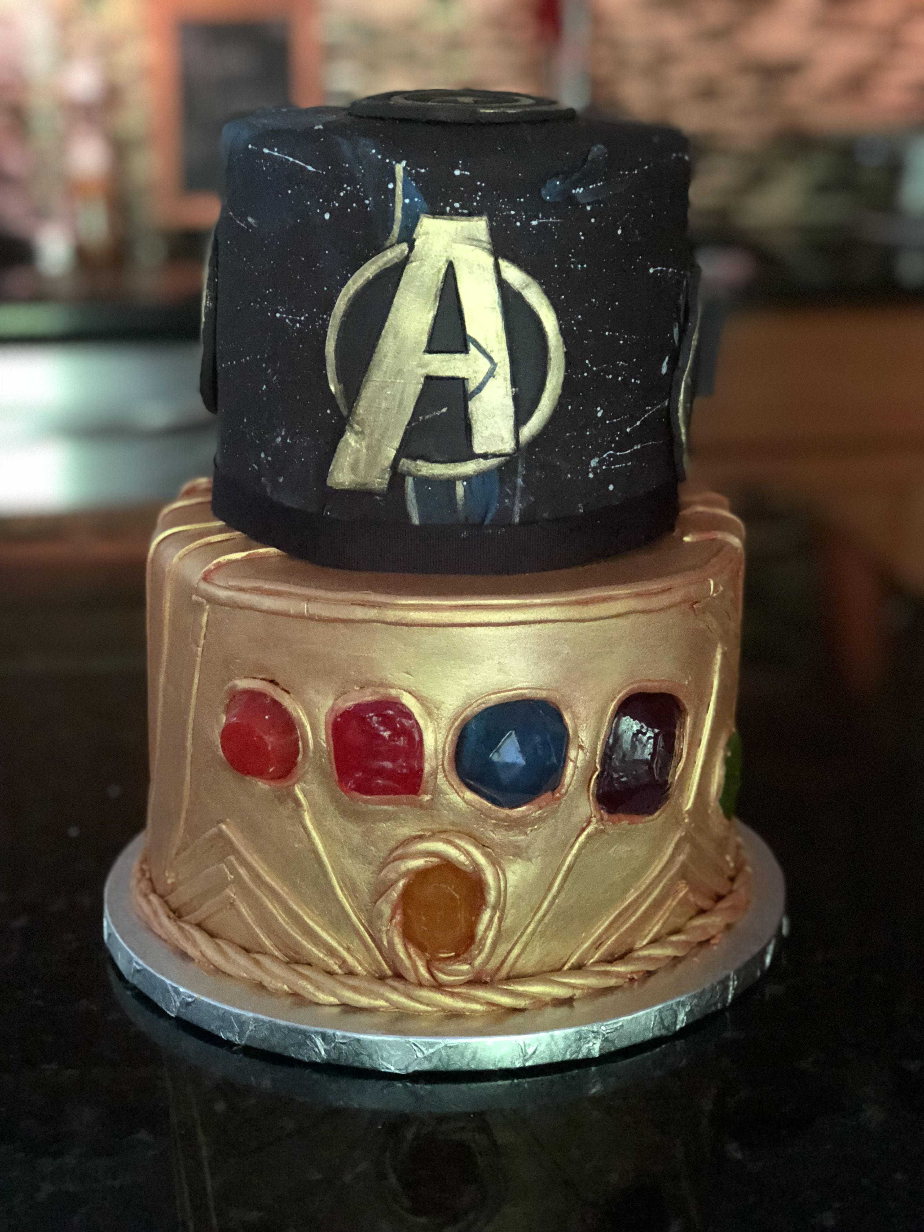 Infinity Wars Cake By Decorated Dreams Infinity Wars