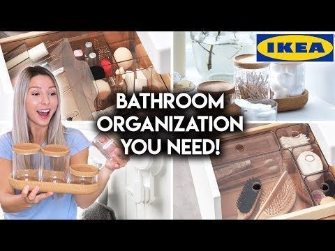 Beach Home Decor 10 IKEA BATHROOM ORGANIZATION IDEAS - YouTube #style #shopping #styles #outfit #pretty #girl #girls #beauty #beautiful #me #cute #stylish #photooftheday #swag #dress #shoes #diy #design #fashion #homedecor