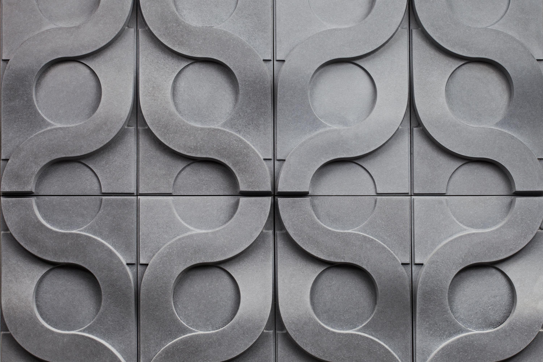 Vine Tiles In Reliable Shaman Colour 3d Wall Tiles Concrete Tiles Concrete Wall