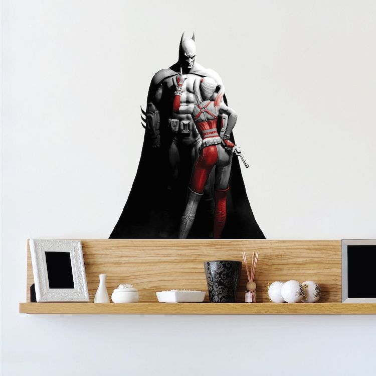 Best Cool Batman Bedroom Wall Sticker With Images Wall 400 x 300