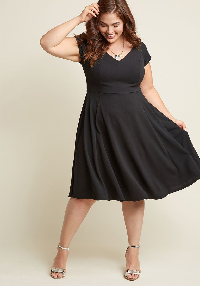 Date Night Done Right A-Line Dress in Black in XS | Products ...