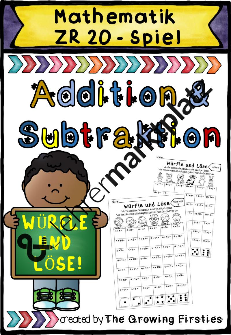 Um die Addition und Subtraktion im Zahlenraum 20 sicher zu ...