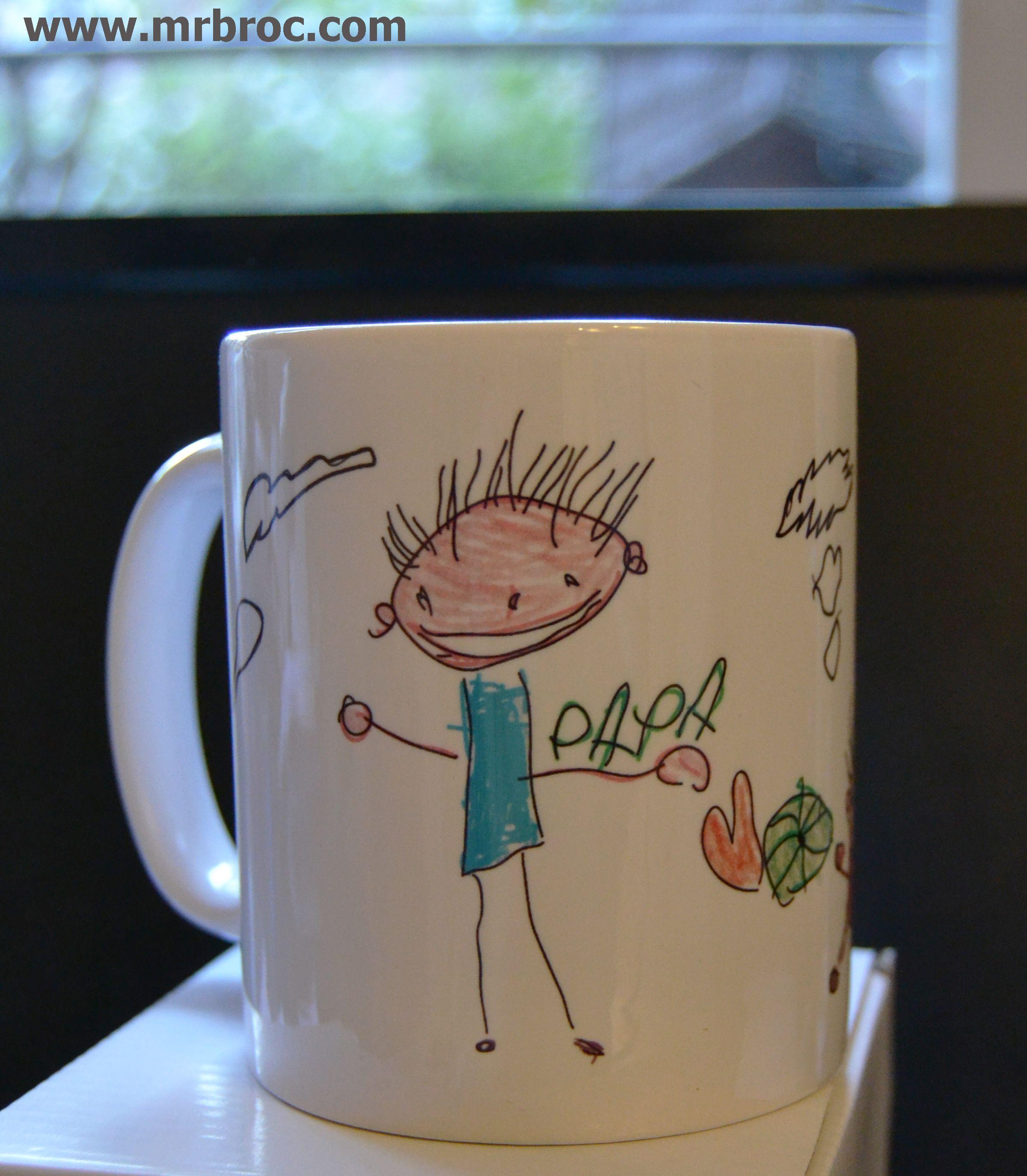 Pide tu broc taza personalizada con dibujos de los peques - Compritas para los peques ...