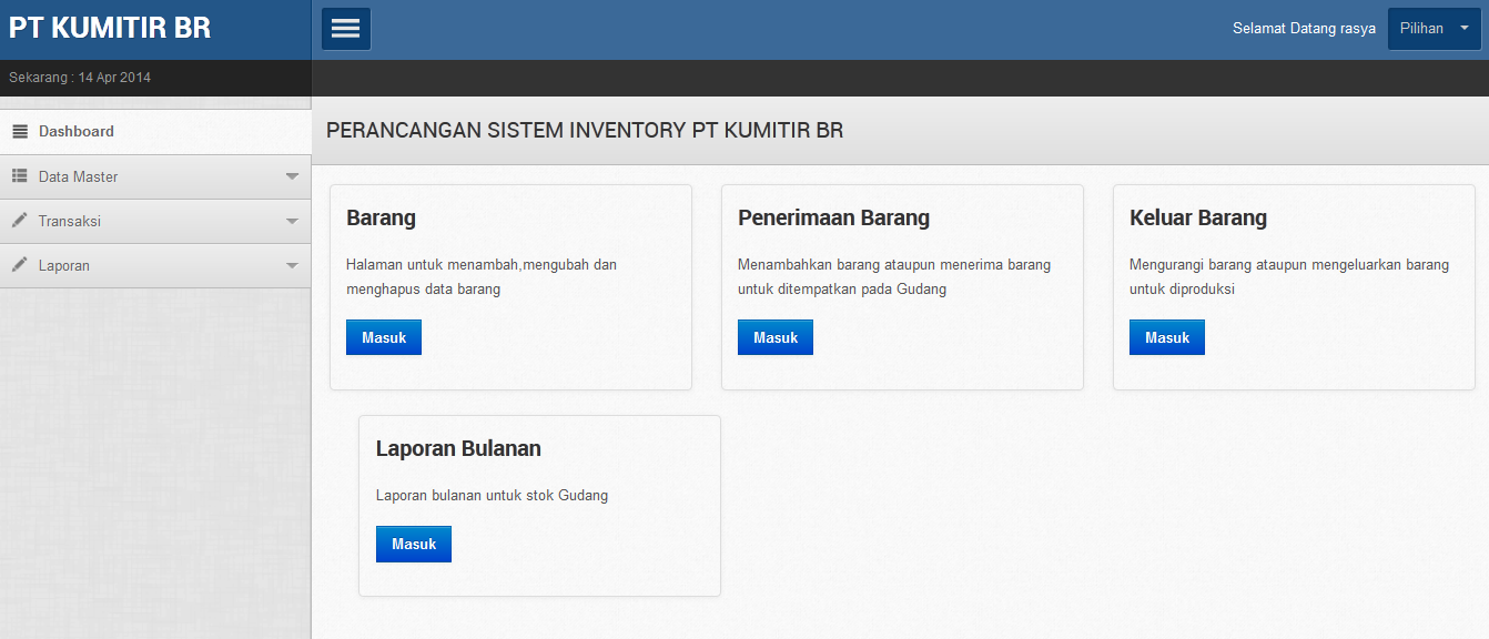 Aplikasi Inventory Barang Dengan Php Dan Mysql Aplikasi Php